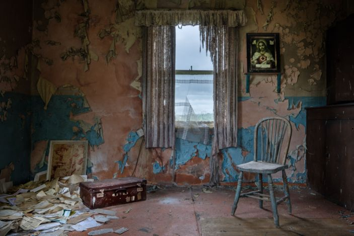 Abandoned irish homes