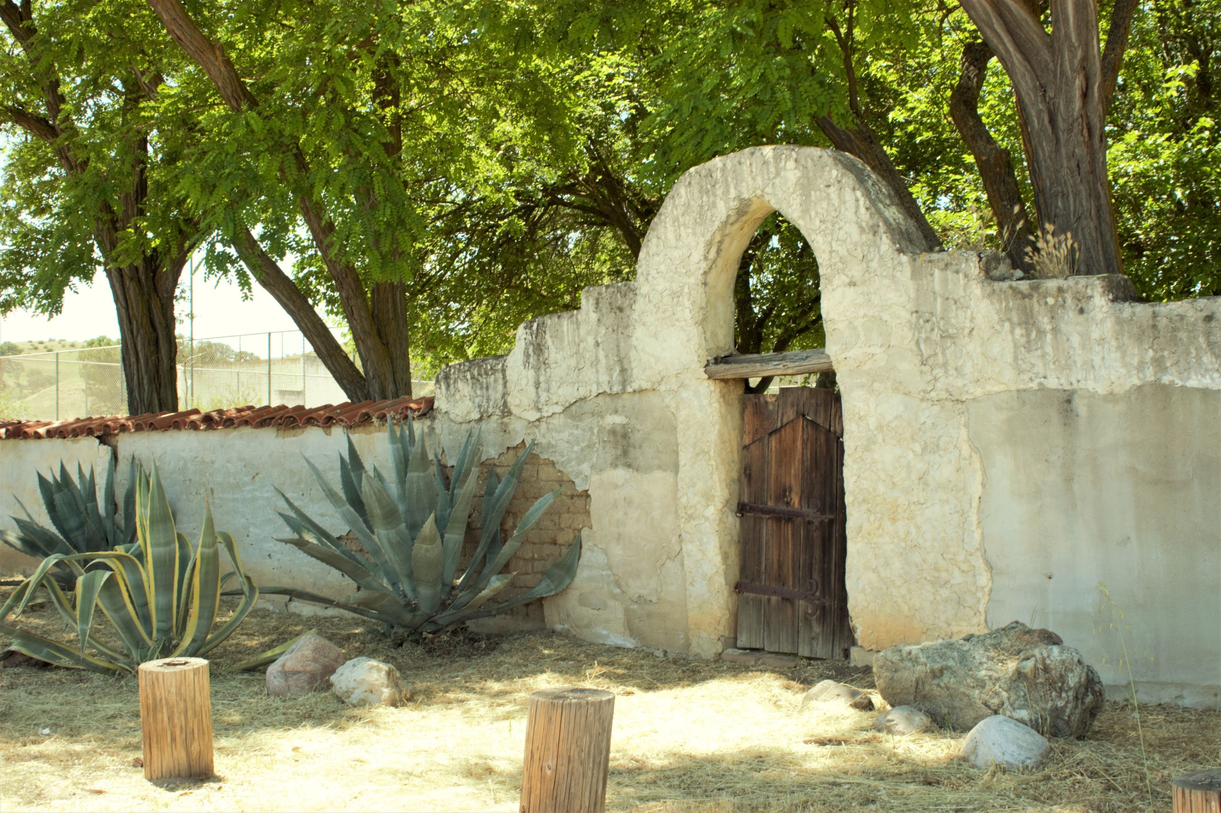 Mission San Miguel:  The Crumbling Walls, Doorways, and Passages.